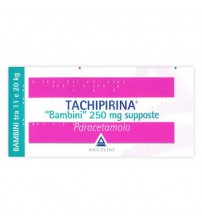 Tachipirina Bambini 250mg 10 Supposte