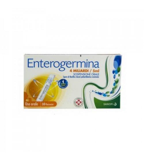 Enterogermina 4 Miliardi / 5ml 20 Flaconcini