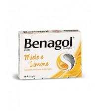 Benagol 16 Pastiglie Gusto Miele e Limone