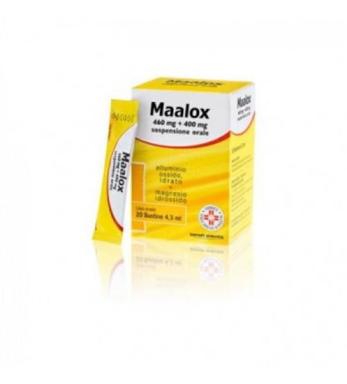 Maalox Sospensione Orale 20 Stick Pack 4,3ml