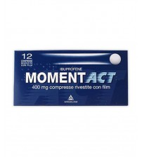 Moment Act 400mg 12 Compresse Rivestite con Film