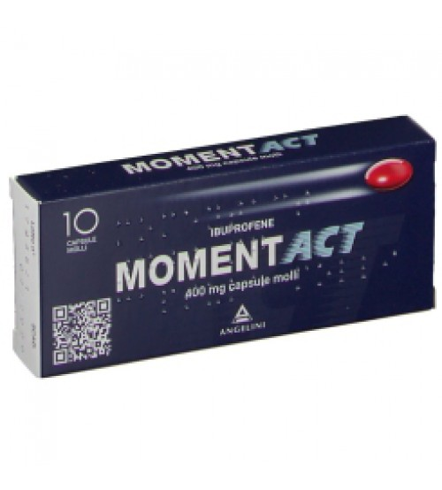Moment Act 400mg 10 Capsule Molli