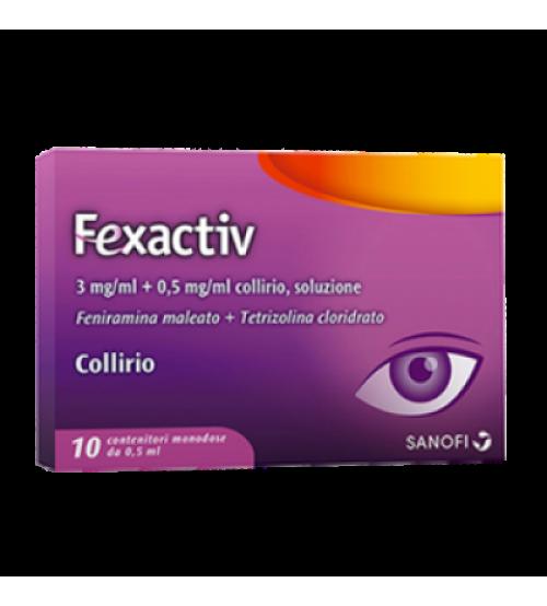 Fexactiv Collirio 5 ml 10 Flaconcini Monodose