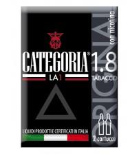 Categoria La1 2 cartucce Original Tabacco 1,8