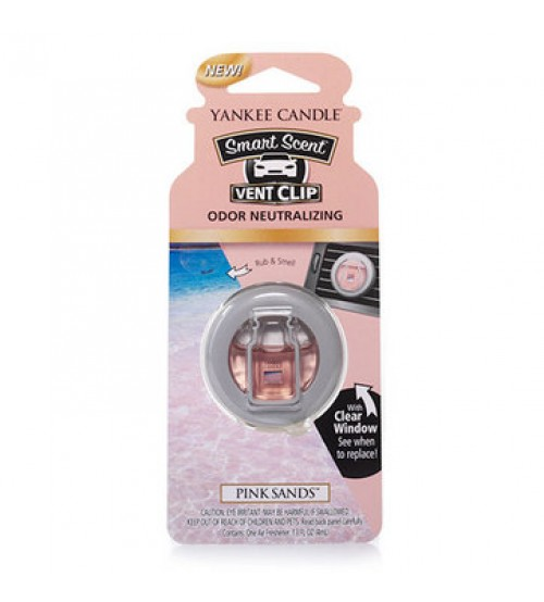 Yankee Candle smart scent vent clip pink sands