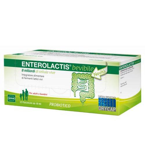 Enterolactis Bevibile 12 Flaconcini da 10ml