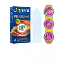 Preservativi Control Finissimo Easy Way 6 pz