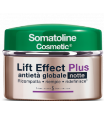 Somatoline Cosmetic Lift Effect Plus Antietà Globale Notte