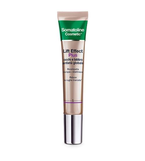 Somatoline Cosmetic Lift Effect Plus Antietà Globale Occhi E Labbra