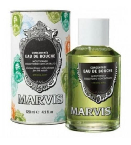 Marvis Collutorio Concentrato alla Menta Forte 120ml
