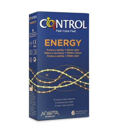 Preservativi Control Energy 6 pz