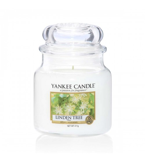 YANKEE CANDLE LINDEN TREE GIARA MEDIA