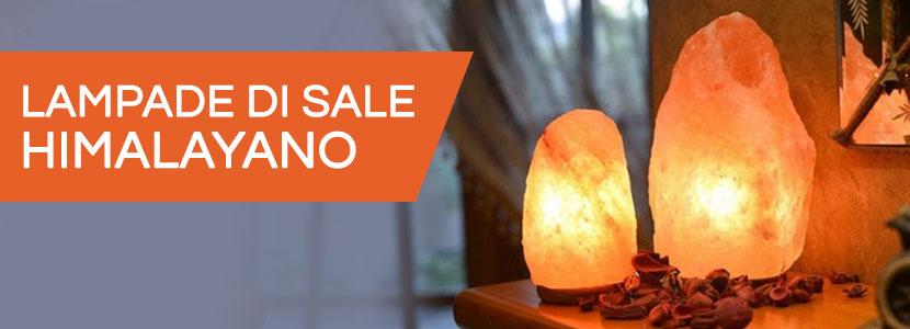 10 benefici della lampada di sale dell'Himalaya