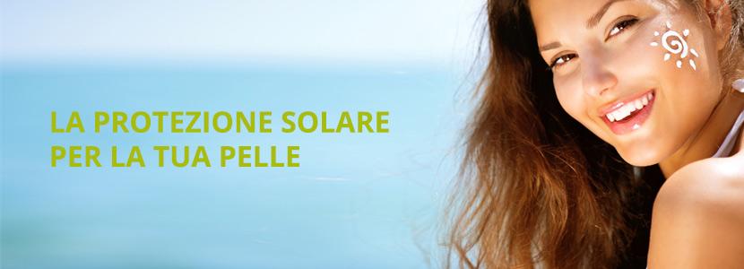 Una crema solare per ogni tipo di pelle