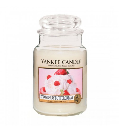 Yankee Candle Strawberry Buttercream Giara Grande