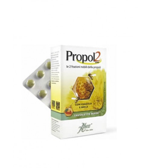 Aboca Propol2 EMF Tavolette Propoli Bambini