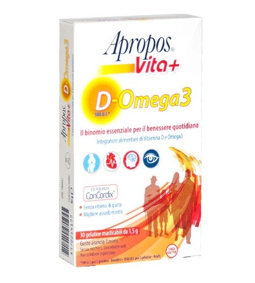 Apropos vita+ d-omega3 30gelatine masticabili