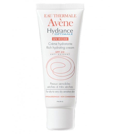 Avene Hydrance Optimale UV Riche Protettiva Idratante Intensa Viso