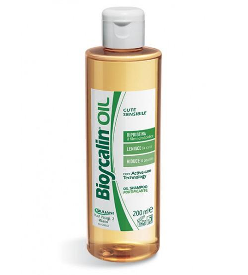 Olio shampoo fortificante Bioscalin, per pelli sensibili