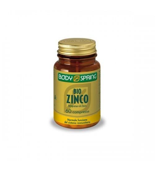 Body Spring Bio Zinco Integratore per le Difese Immunitarie