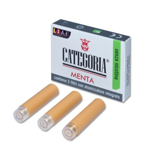 Categoria Original 3 Filtri senza nicotina, aroma Menta