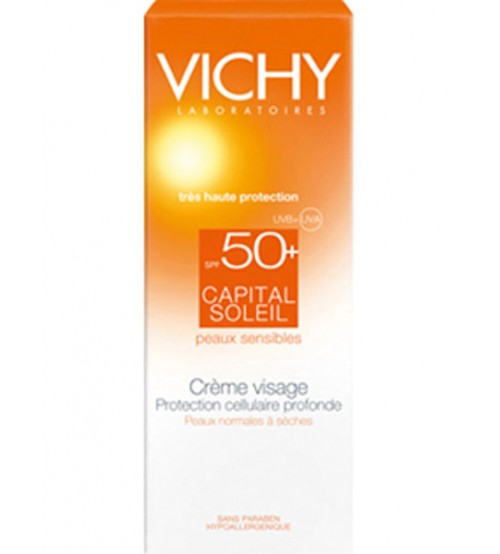 Crema solare viso Vichy Capital Soleil SPF50+
