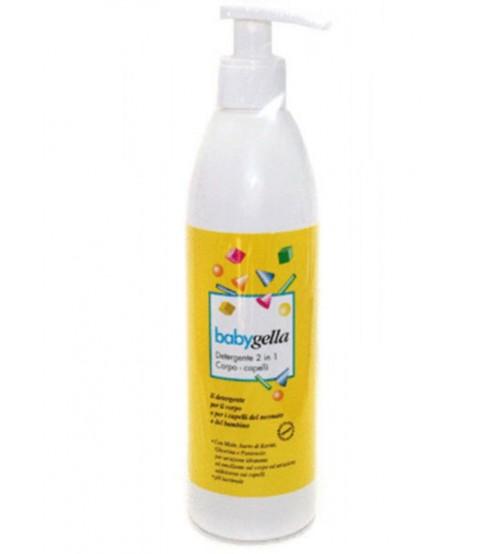 Babygella Detergente 2 in 1 corpo e capelli
