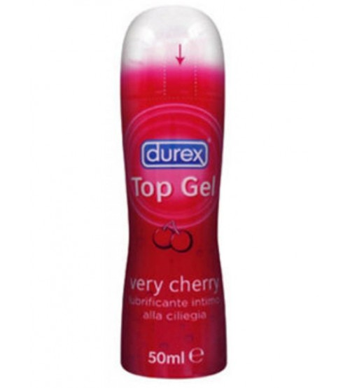 Lubrificante Intimo Top Gel Very Cherry Durex