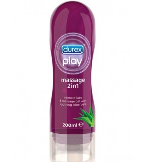 Gel Lubrificante Play Massage 2in1 Durex
