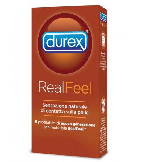 Preservativi Durex Real Feel