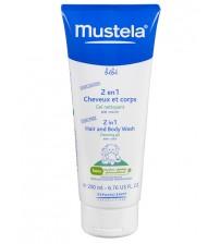Gel Detergente 2in1 corpo-capelli Mustela