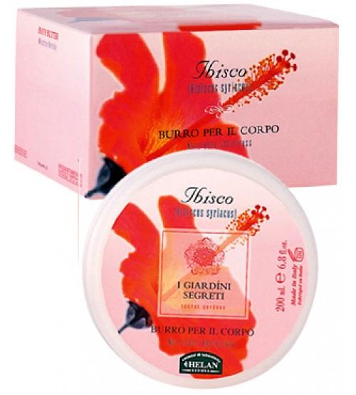 Burro Corpo Ibisco - Giardini Segreti Helan