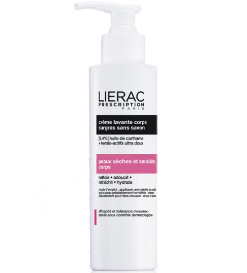 Lierac Prescription Crema Detergente corpo senza sapone