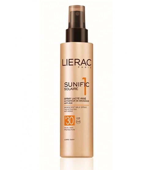 Solare Lierac Sunific 1 SPF30 Latte Spray
