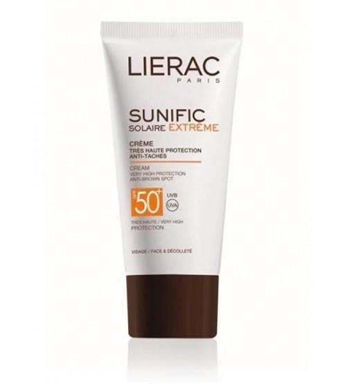Solare per il viso Lierac Sunific Extreme SPF50+