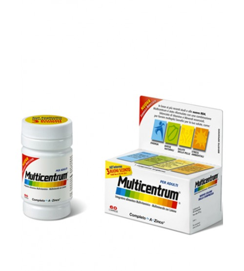 Multicentrum integratore alimentare multivitaminico