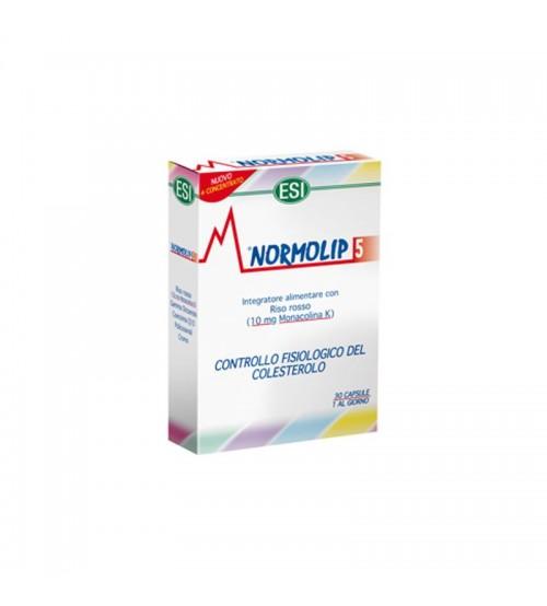 Integratore colesterolo Normolip 5 30cps