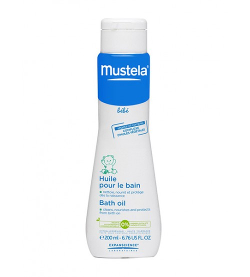Mustela olio per massaggio 100 ml - Olio bagno neonato ...