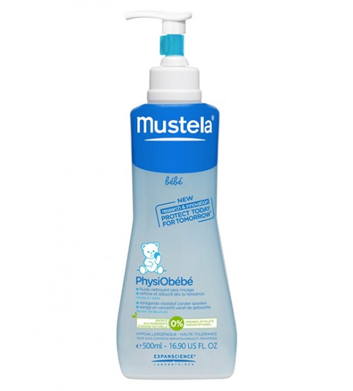 PhysioBebé Detergente Fluido senza risciacquo Mustela