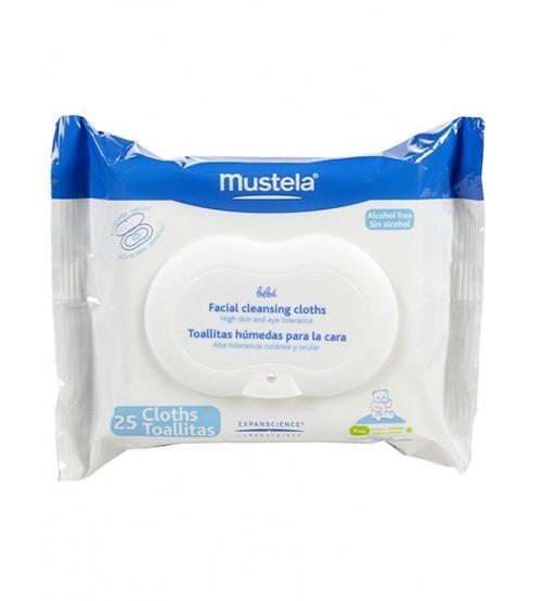 Salviette Detergenti Viso Mustela