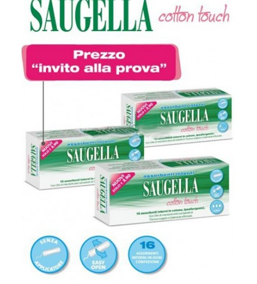 Saugella Cotton Touch Assorbenti interni