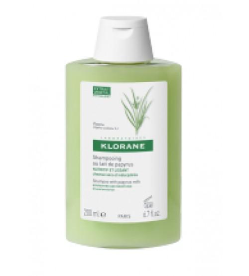 Klorane Shampoo Nutritivo e Lisciante al Latte di Papiro