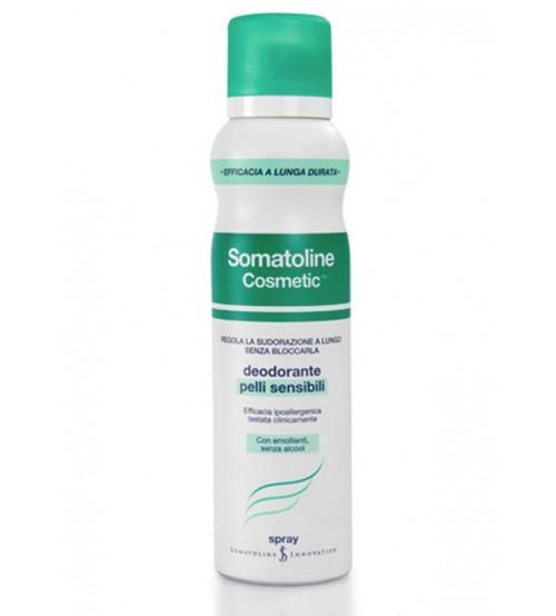 Deodorante Pelli Sensibili spray Somatoline