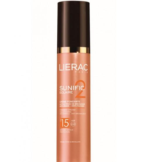 Solare per il viso Lierac Sunific 2 Crema SPF15