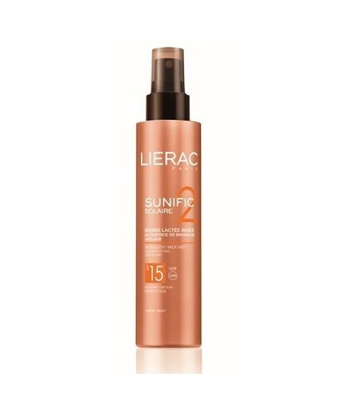 Solare Lierac Sunific 2 SPF15 Latte Spray