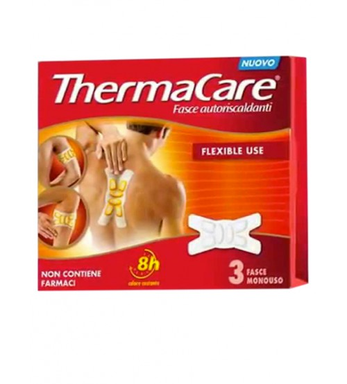 Thermacare 3 Fasce Riscaldanti Flexible Use