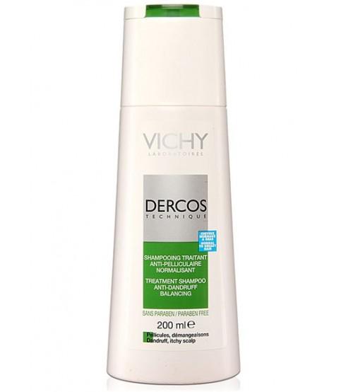Shampoo Anti Forfora Dercos Vichy Capelli Grassi