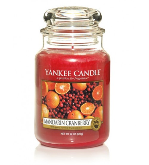 Yankee Candle Mandarin Cranberry Giara Grande