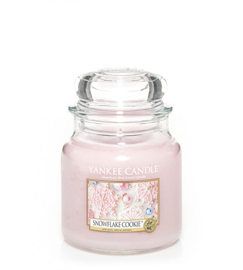 Yankee Candle Snowflake Cookie Giara Media