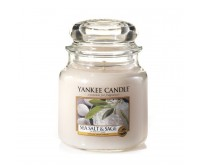 YANKEE CANDLE SEA SALT E SAGE, GIARA MEDIA